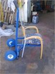 עגלה לשינוע כיסאות